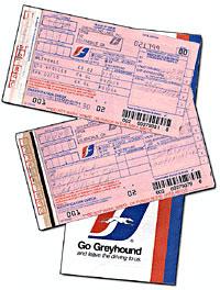 Greyhound tickets